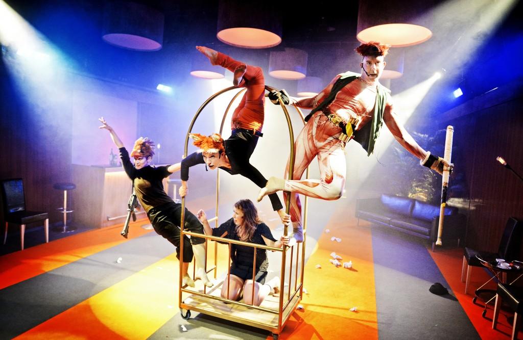 Där vi en gång flått / Teater Viirus / Photo by Cata Portin