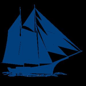 Hoppet-silhouette-bleu