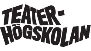 Teaterhögskolans logo med texten konstuniversitetet under